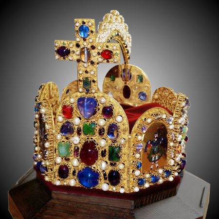 Imperial Crown of The Holy Roman Empire - Replica.